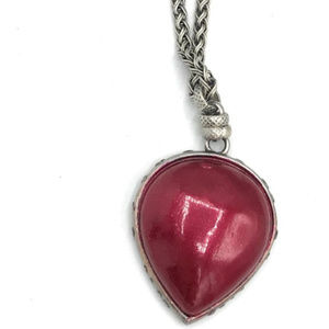 Lucky Brand Red Pendant Necklace - 0950